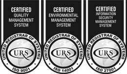 Barry Bennett Ltd are ISO 27001, 9001 and 14001 certified